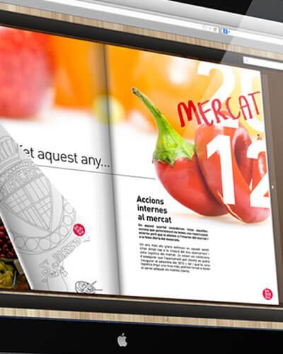 Boqueria catalogo 2012 editorial promocion trademarketing - Branding. Diseño gráfico. Editorial