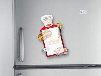 Argal nevera alimentacion - Campaña promocional. Diseño gráfico