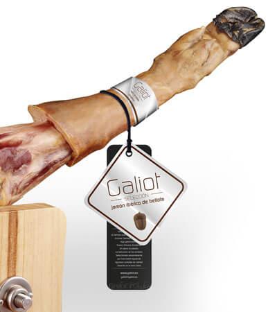 Galiot etiqueta - Packaging