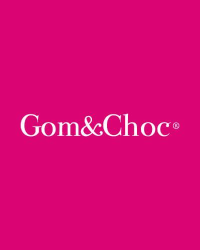 Gom choc branding - Branding. Diseño gráfico