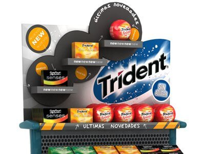 Trident pdv trdemarketing packaging - PDV. Campaña promocional. 3D