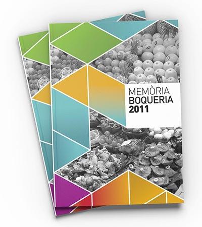 barcelona catalogo grafico estudio Boqueria - Editorial. Branding. Diseño gráfico