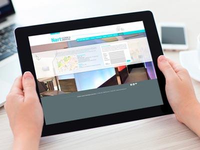 barcelona web estudi Nart - Diseño web