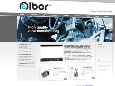 ibor web design ipad - Diseño Web
