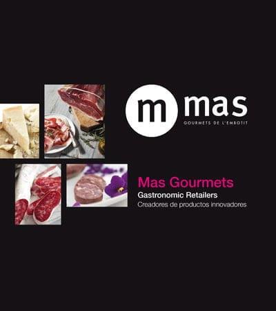 mas gourmets catalogo - Diseño gráfico. Editorial