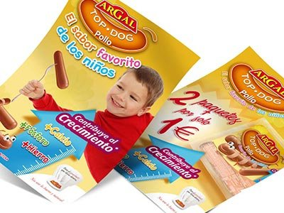 publicidad estudio barcelona TopDog - Campaña promocional. Diseño gráfico. Trade Marketing