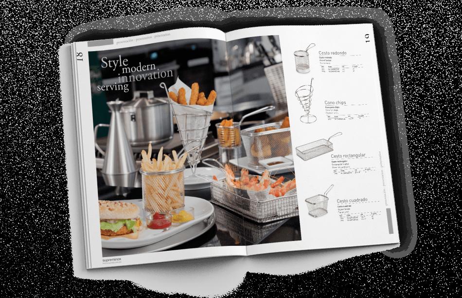 barcelona design studio catalogue 950x612 - Diseño del Catálogo de Supreminox 2014