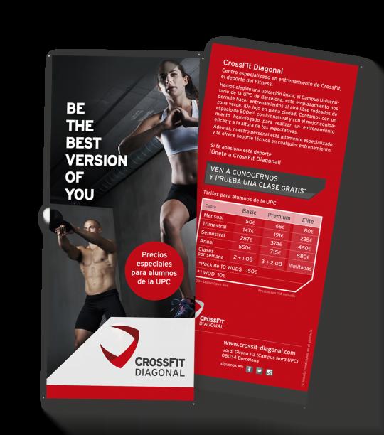 branding crossfit diagonal barcelona flyer upc 540x612 1 - Proyecto global de comunicación para CrossFit Diagonal