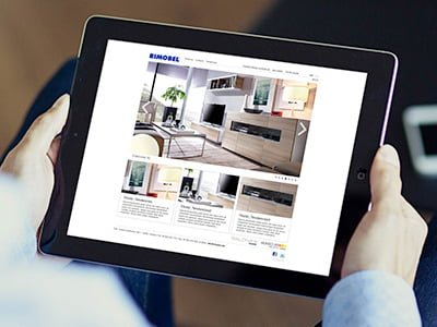 web design barcelona rimobel - Diseño web