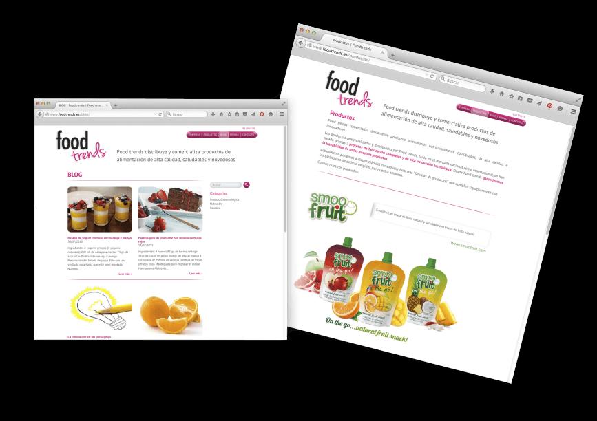 Diseno grafico bcn alimentacion 867x612 - Creación de la web de Foodtrends, planificación, análisis y diseño.