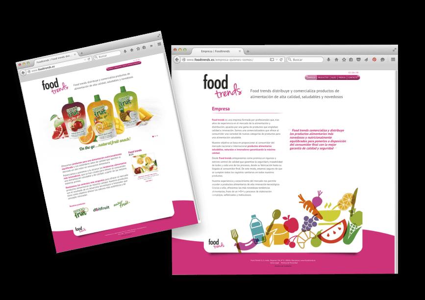 estudio diseno grafico barcelona web responsive 867x612 - Creación de la web de Foodtrends, planificación, análisis y diseño.