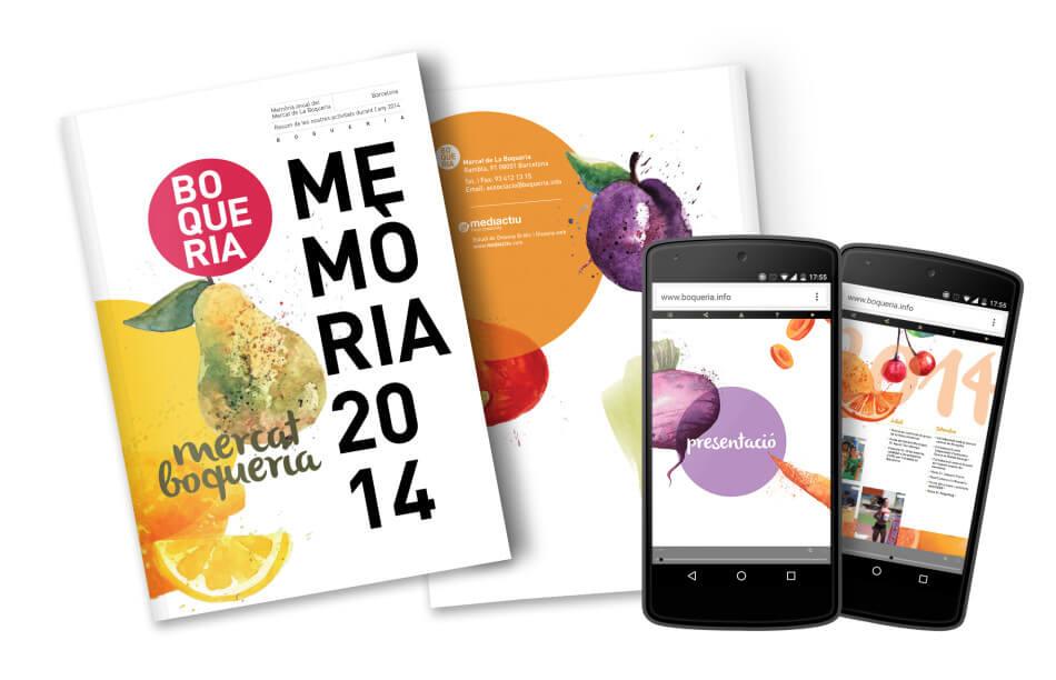 Dise o editorial ilustraci n alimentaci n mediactiu for Diseno grafico editorial