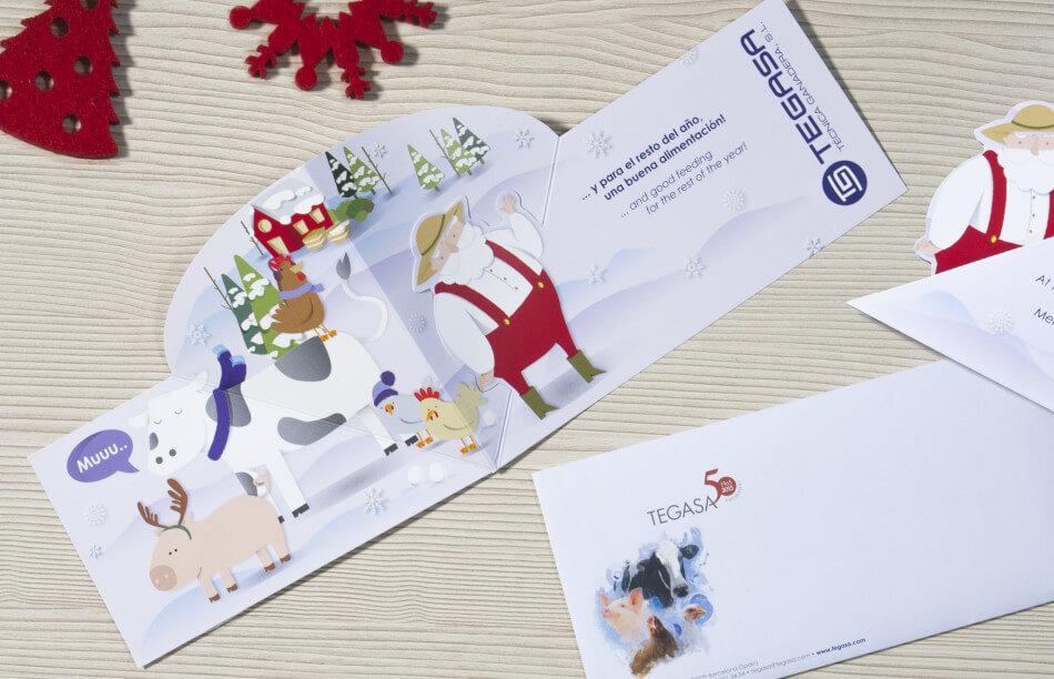 Tegasa felicitacion navidad 02 950x612 - Comunicaciones Festivas