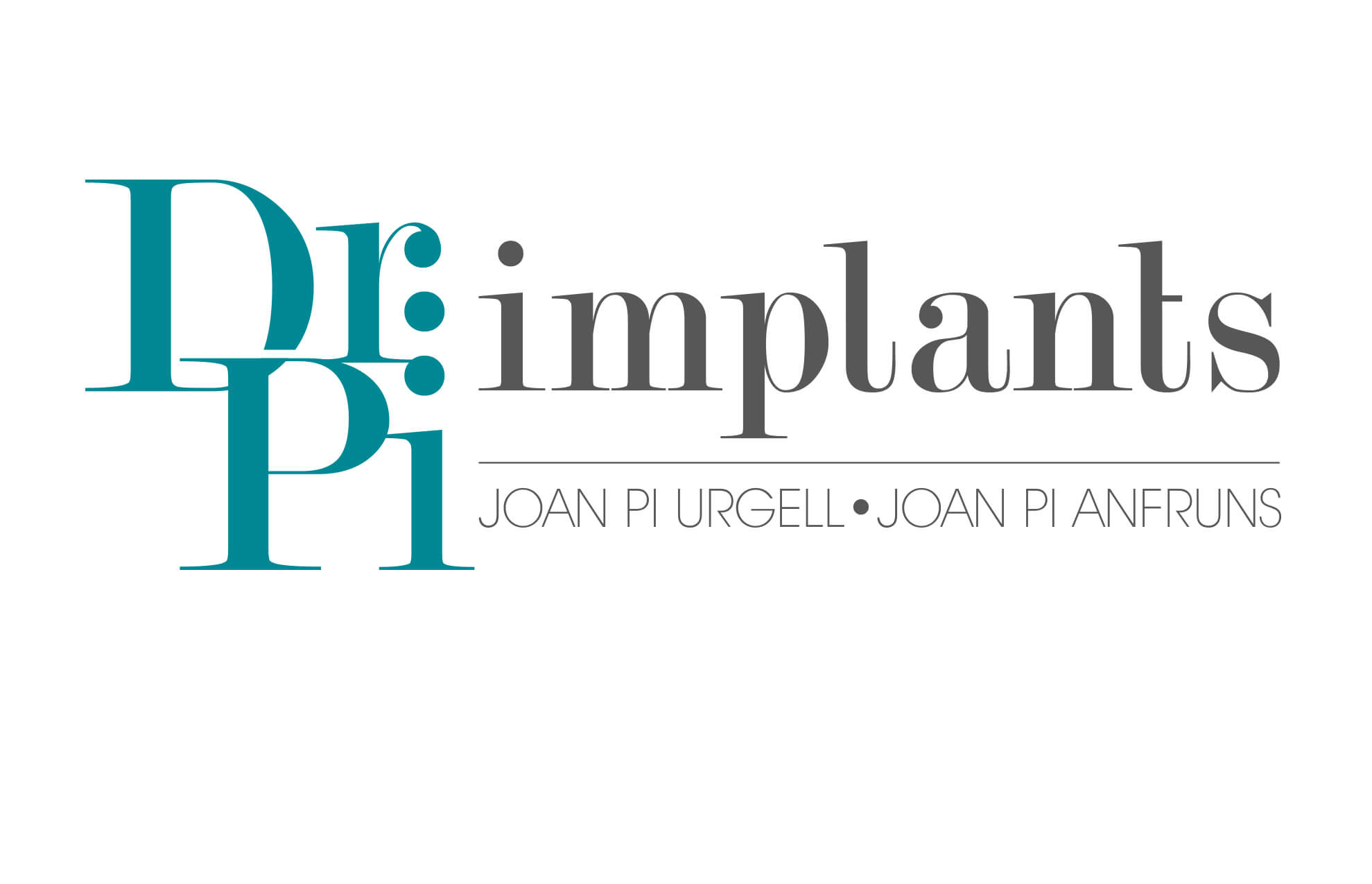 Dr Pi logotipo restyling branding1 - Restyling. Branding. Odontología