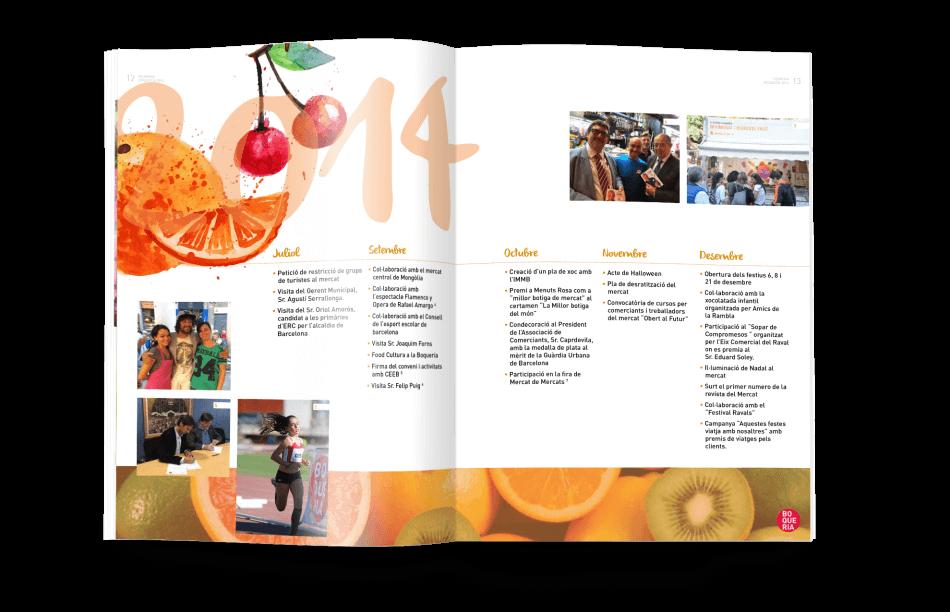 diseno ilustracio sector alimentario 950x612 - El Mercat de la Boquería presenta su nueva memoria