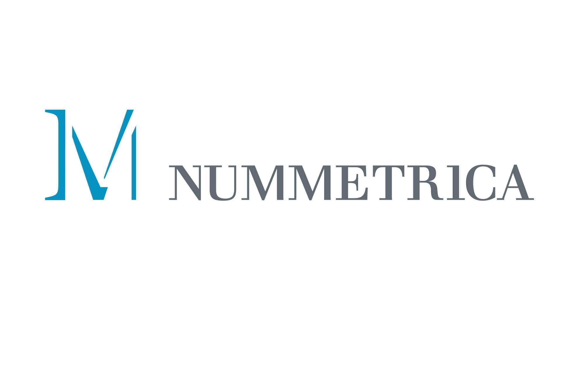 nummetrica design logo1 - Branding. Identidad gráfica. Numismática