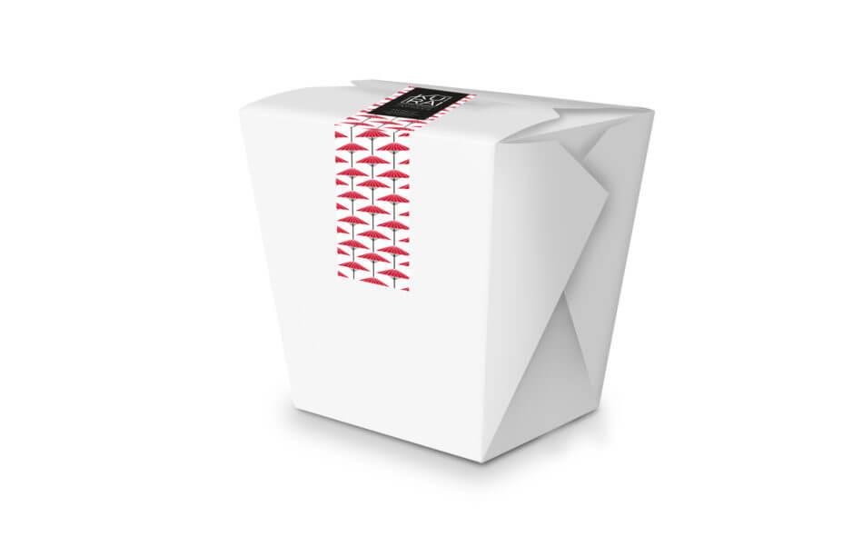 packaging take away design barcelona 950x612 - Creación de branding para Kurai, restaurante japonés de Barcelona