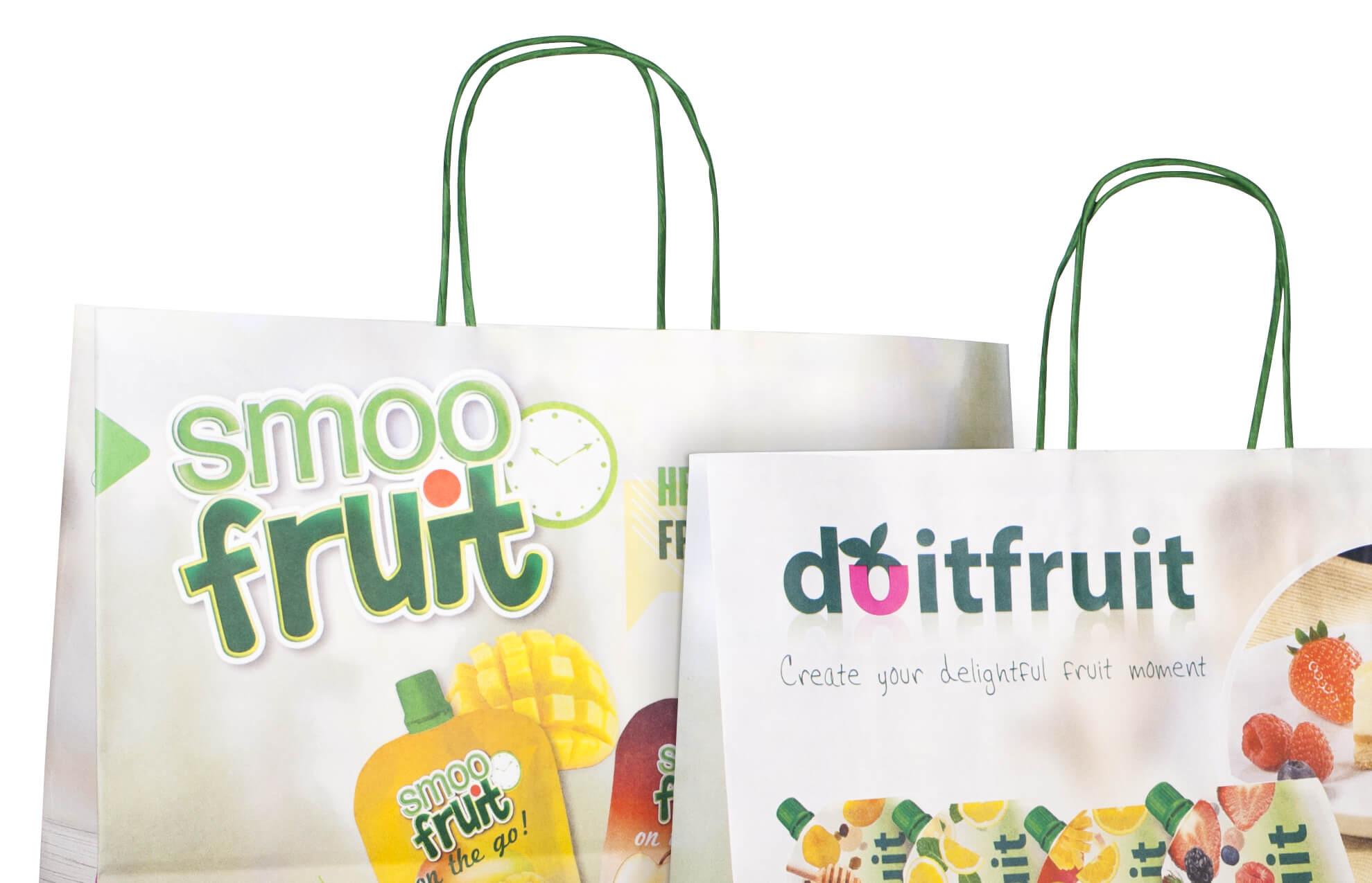 detalle bolsas alimentacion merchandising - Marketing. Merchandising. Comercial