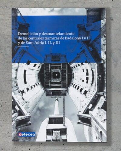 detecsa demolicion chimeneas barcelona - Libro. Diseño editorial