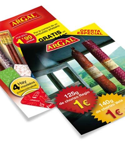 cartel grafico estudio bcn Argal - Campaña promocional. Marketing