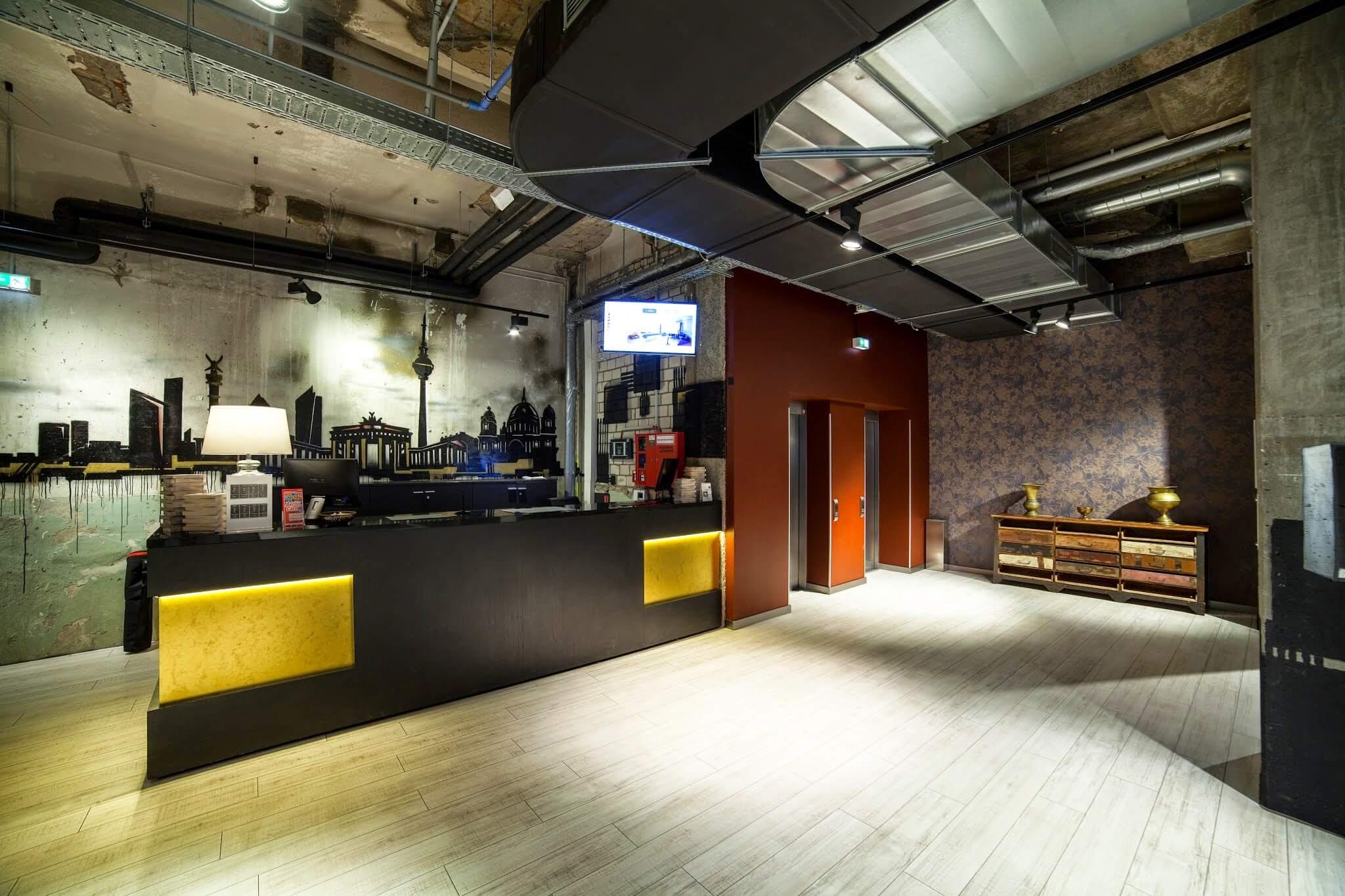 Hotel studio design - Comunicación para el nuevo Hotel Berlin Mitte