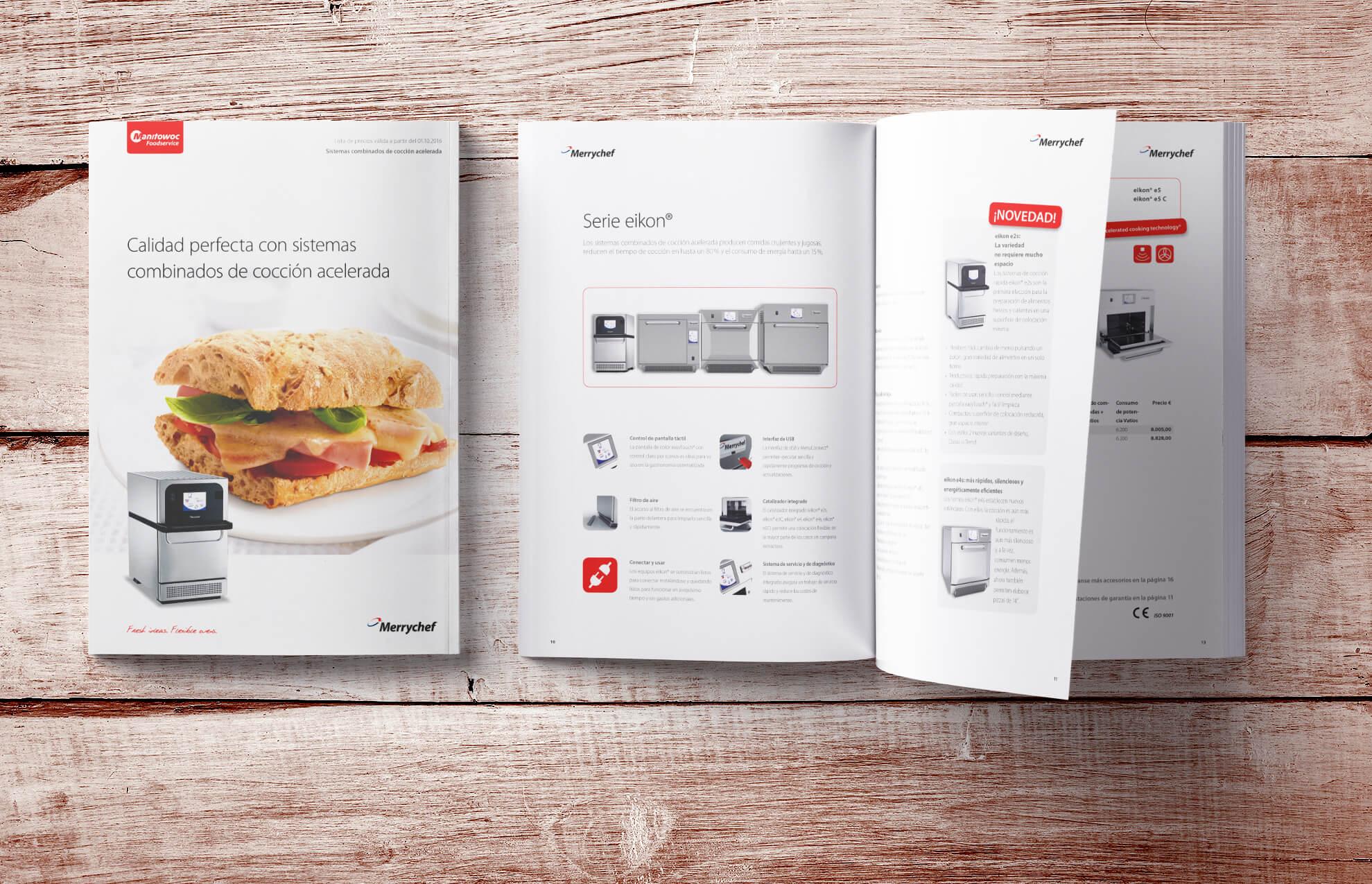 Diseno sector industria Barcelona - Soluciones en marketing, diseño gráfico... para Manitowoc