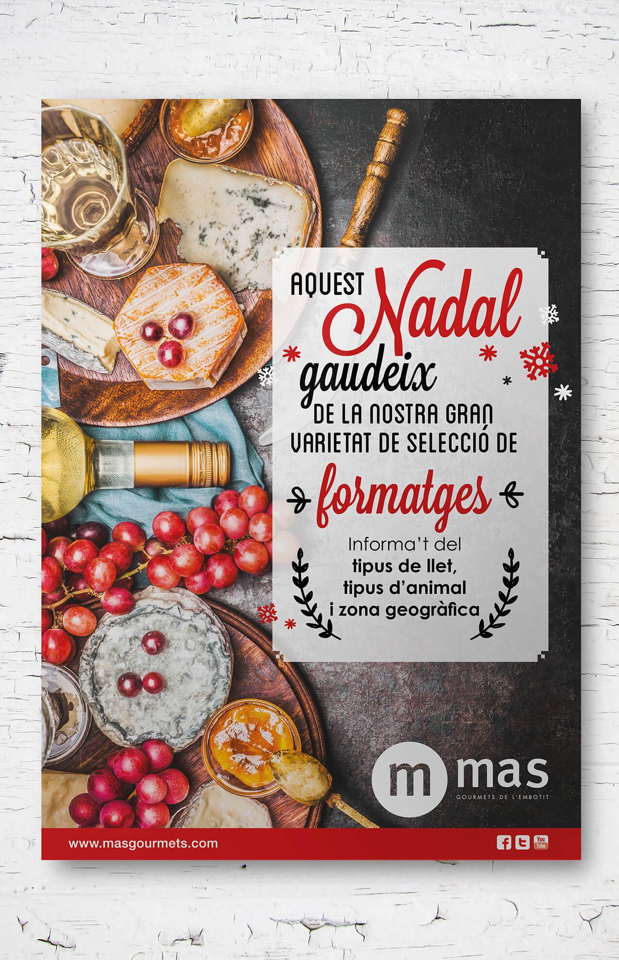 cartel barcelona alimentacion - ¿Y tú, con cuanto tiempo preparas tu campaña de Navidad?