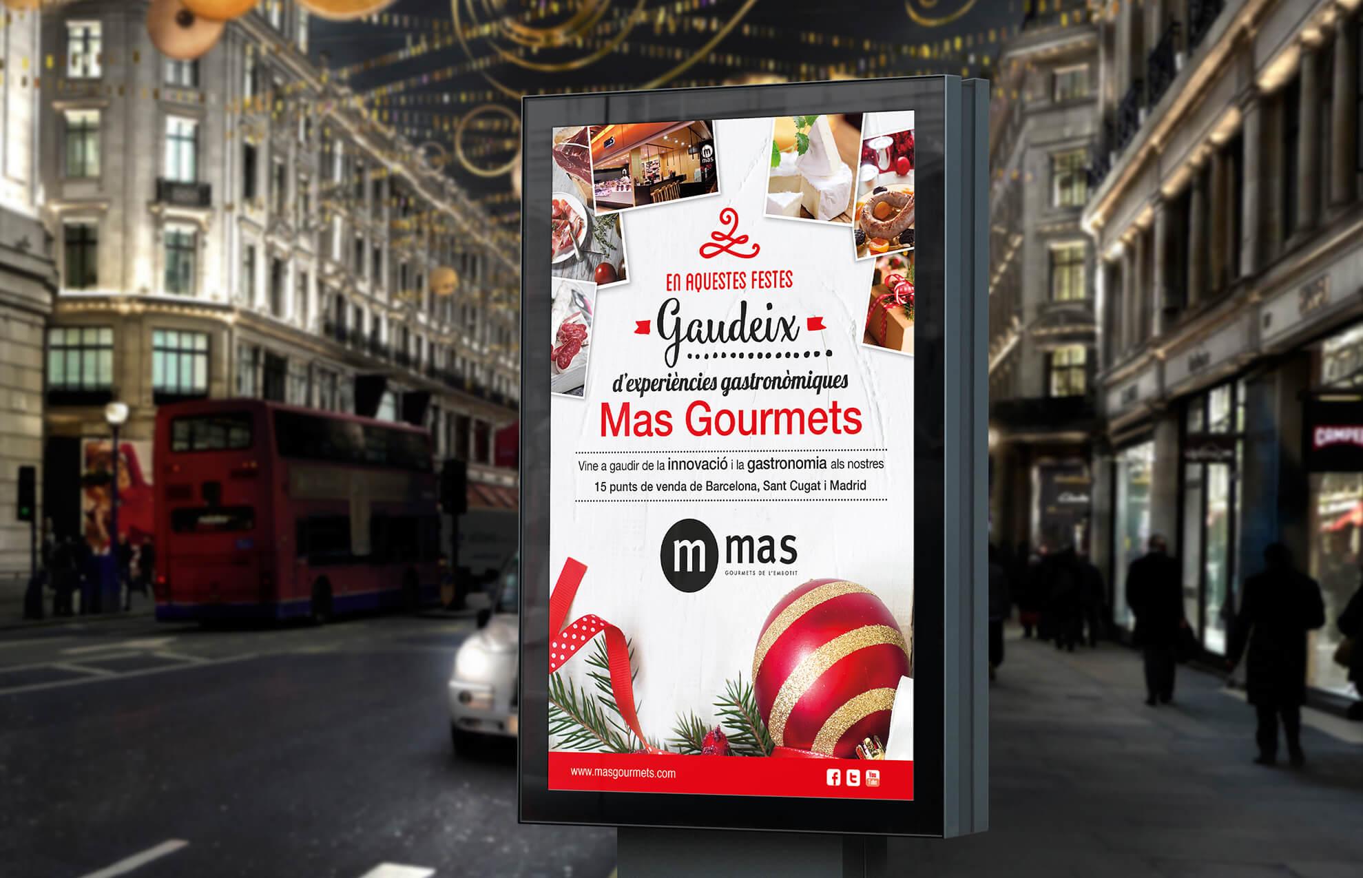 cartel navidad sector alimentacion bcn - ¿Y tú, con cuanto tiempo preparas tu campaña de Navidad?