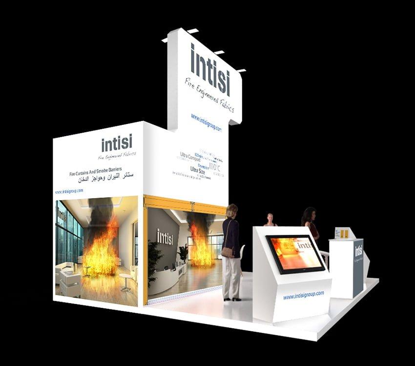 creacion stand barcelona feria internacional - INTISI, un proyecto global con soluciones a medida