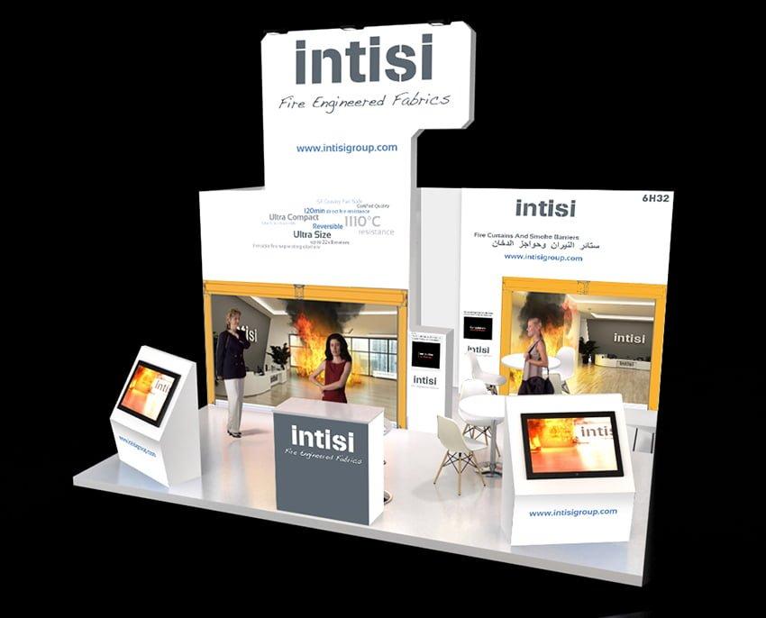stand eventos internacional - INTISI, un proyecto global con soluciones a medida
