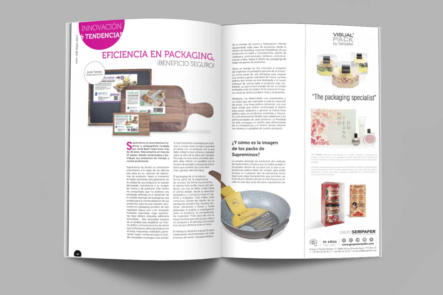 Packaging design reference barcelona - En reconocimiento a la eficiencia en la creación de packaging