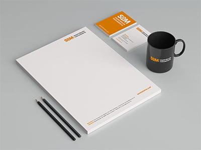 grafica estudio diseno barcelona SOM - Naming, branding, registro de marca, aplicaciones de marca...