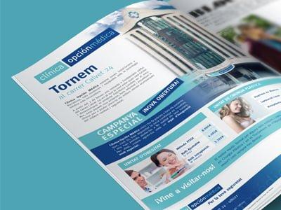 revista catalogo diseno editorial clinica - Campaña publicitaria para clínica estética