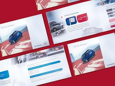 Catalogo promocional estudio diseno barcelona - Catalogo Audi Service