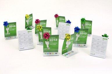 regalo promocional corporativo - Comunicación corporativa con mensaje y gigabites de regalo