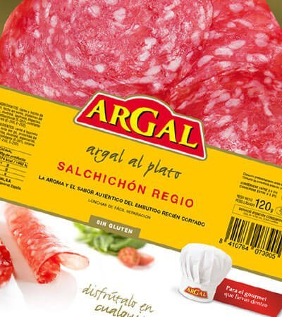 Argal alimentacion - Identidad corporativa. Packaging