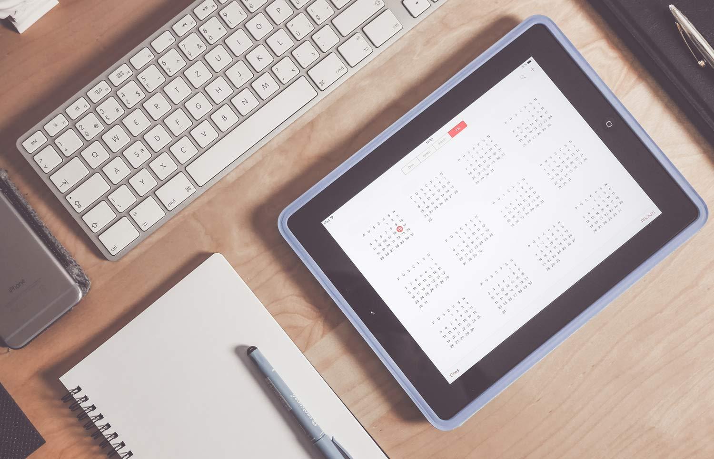 Calendario pressupuestos estudio diseno - Schedule and budget control