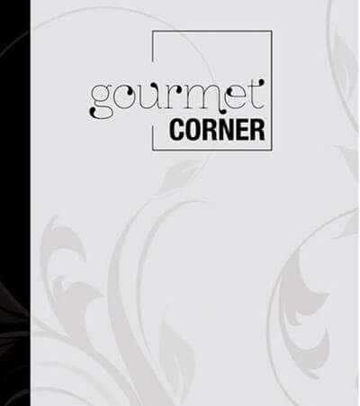 Gourmet corner packaging branding editorial graphic design - Disseny de cartes de restaurant