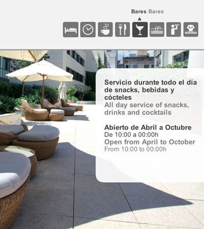 Hoteles Catalonia web - Diseño de app y vídeo de promoción para hoteles