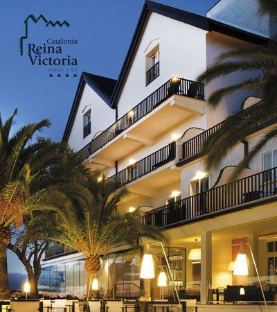 Hoteles catalonia Reina Victoria branding graphic design1 - Imatge de marca per a restaurant