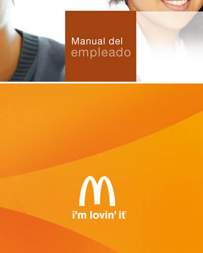McDonals graphic design branding - Packaging y gráfica para Wellcome Pack