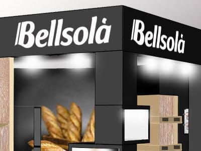 bellsola stand - Desarrollo de stand para ferias