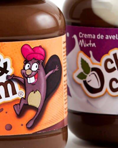 choc cream gom choc1 - Naming y branding para producto alimentario