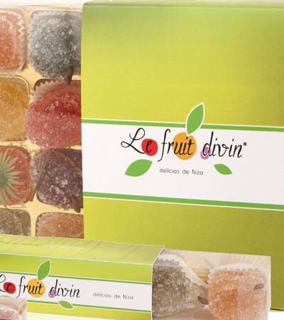 le fruit divin gom choc packaging - Creació de branding i packaging per a alimentació