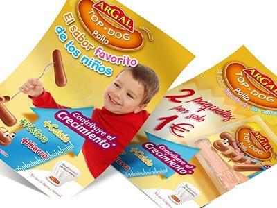 publicidad estudio barcelona TopDog - Campanya promocional per a Argal