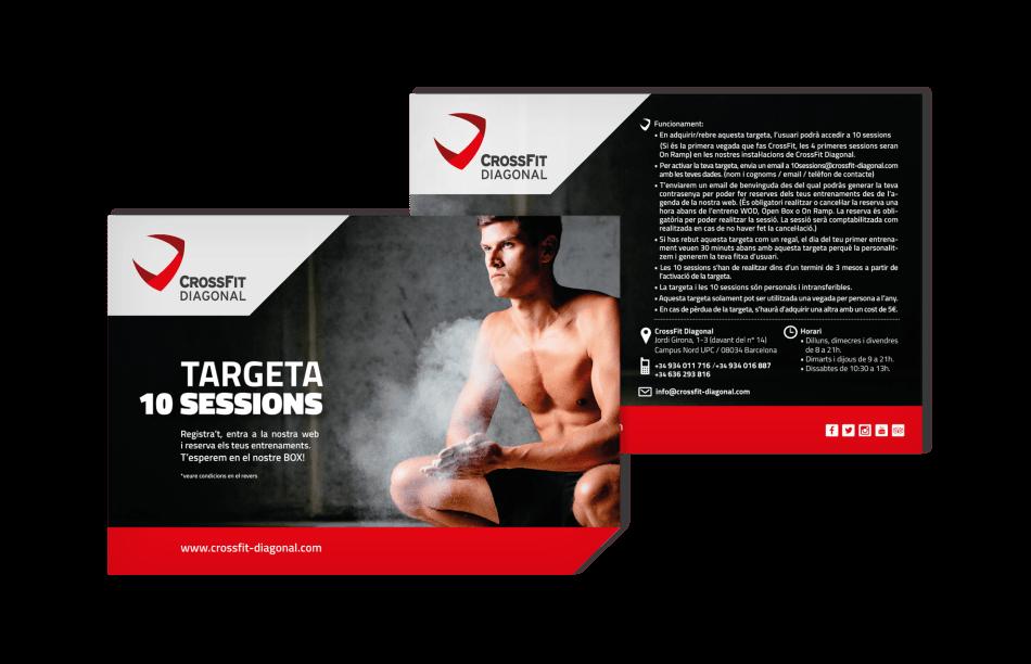 branding crossfit diagonal barcelona 10 sesiones 950x612 1 - Proyecto global de comunicación para CrossFit Diagonal
