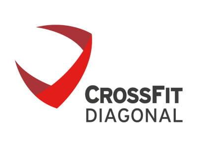 Crossfit Barcelona logotipo branding - Diseño de branding y elementos gráficos promocionales