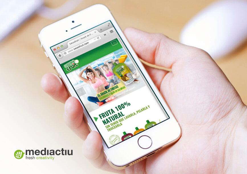smoofruit responsive web design 867x612 - Smoofruit, una gráfica tan fresca y natural como el producto