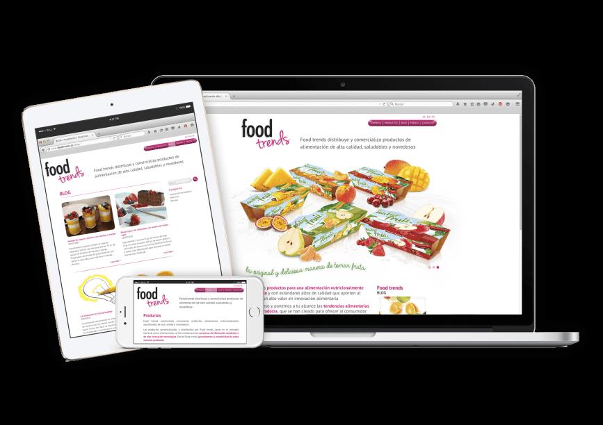 Graphic web design barcelona 867x612 - Creación de la web de Foodtrends, planificación, análisis y diseño.