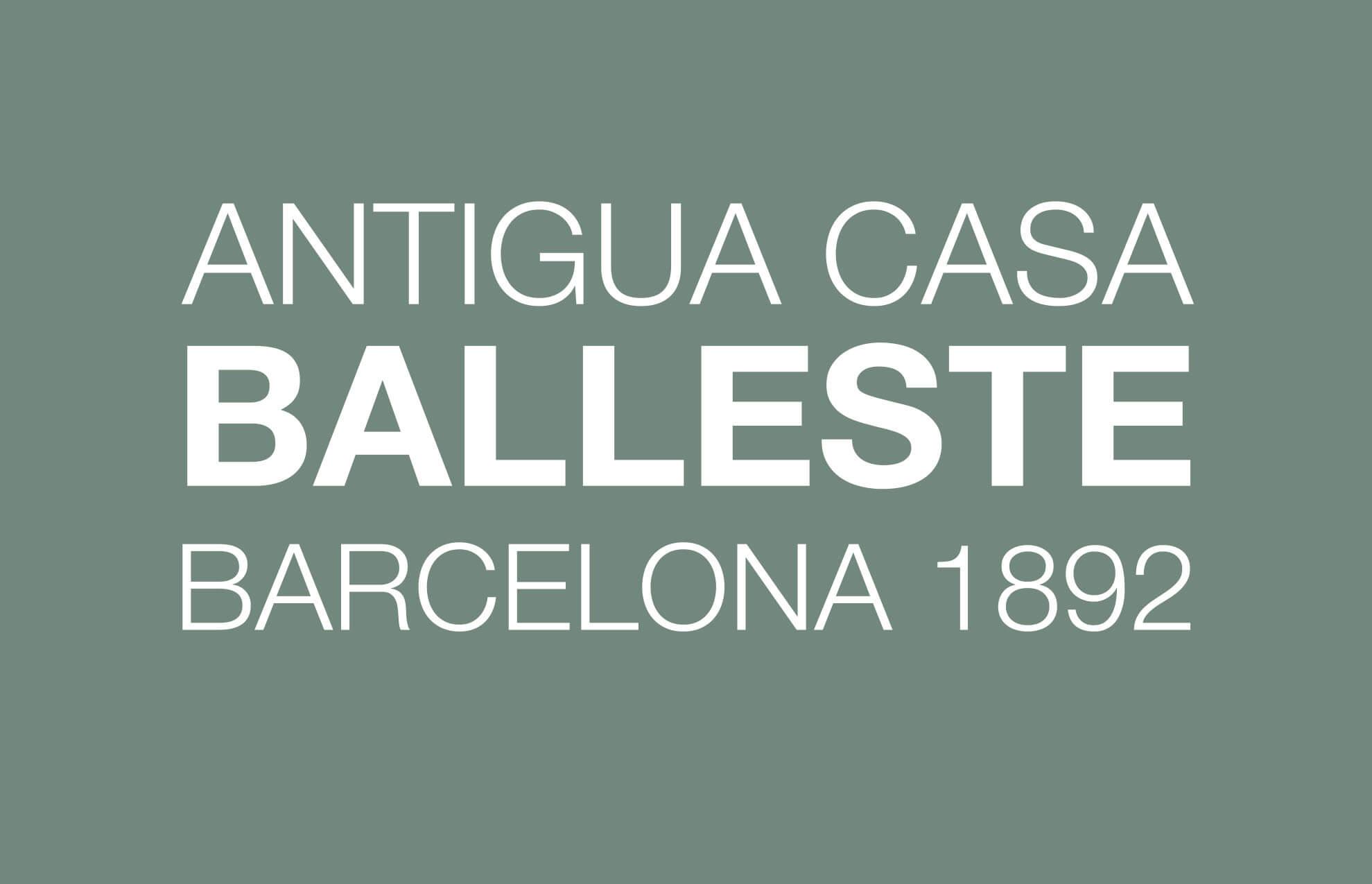 rediseno logotipo casa balleste barcelona1 - Restyling de identidad gráfica